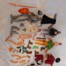 Figure e Bambolotti Mego: LOTE MUÑECOS Y PIEZAS MEGO. Lote 224100016