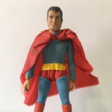Figuras y Muñecos Mego: FIGURA ORIGINAL MEGO DE SUPERMAN, MARCADO 1971. Lote 224169455