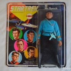 Figuras y Muñecos Mego: STAR TREK. MR. SPOCK. CINCO FIGURAS DE ACCIÓN DIBUJADAS. MEGO. 1974. PARAMOUNT. ROMANJUGUETESYMAS.. Lote 231226765