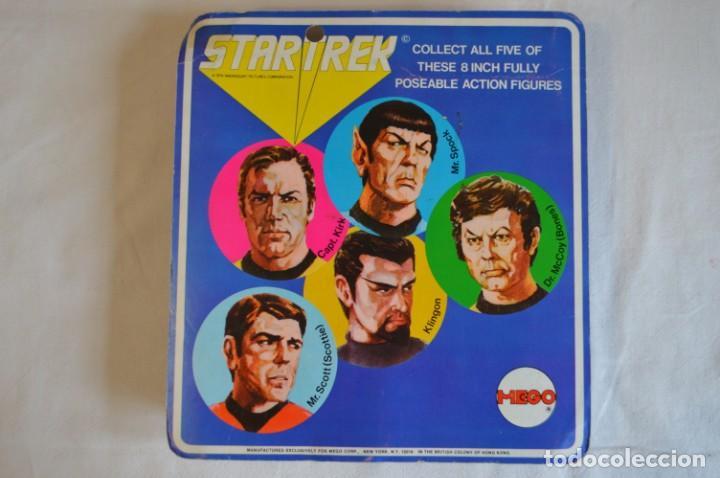 Figuras y Muñecos Mego: Star Trek. Mr. Spock. Cinco figuras de acción dibujadas. Mego. 1974. Paramount. romanjuguetesymas. - Foto 2 - 231226765