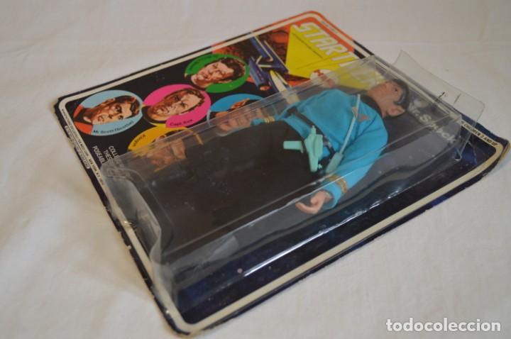 Figuras y Muñecos Mego: Star Trek. Mr. Spock. Cinco figuras de acción dibujadas. Mego. 1974. Paramount. romanjuguetesymas. - Foto 3 - 231226765