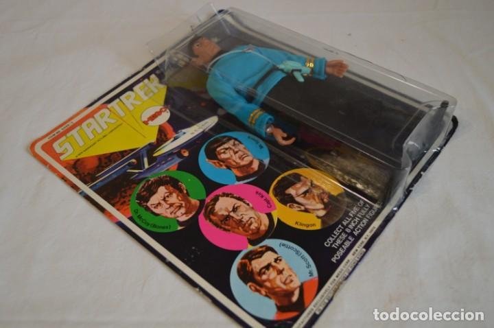 Figuras y Muñecos Mego: Star Trek. Mr. Spock. Cinco figuras de acción dibujadas. Mego. 1974. Paramount. romanjuguetesymas. - Foto 4 - 231226765