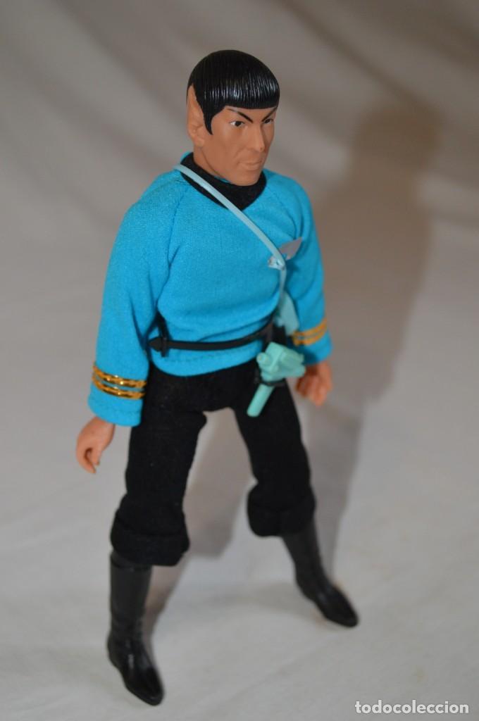 Figuras y Muñecos Mego: Star Trek. Mr. Spock. Cinco figuras de acción dibujadas. Mego. 1974. Paramount. romanjuguetesymas. - Foto 8 - 231226765