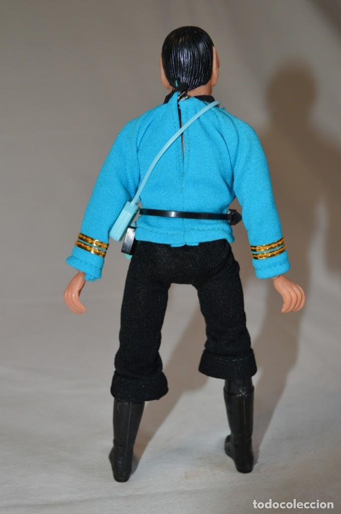 Figuras y Muñecos Mego: Star Trek. Mr. Spock. Cinco figuras de acción dibujadas. Mego. 1974. Paramount. romanjuguetesymas. - Foto 13 - 231226765