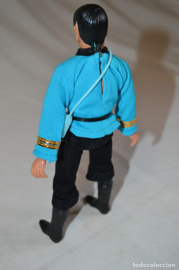 Figuras y Muñecos Mego: Star Trek. Mr. Spock. Cinco figuras de acción dibujadas. Mego. 1974. Paramount. romanjuguetesymas. - Foto 14 - 231226765