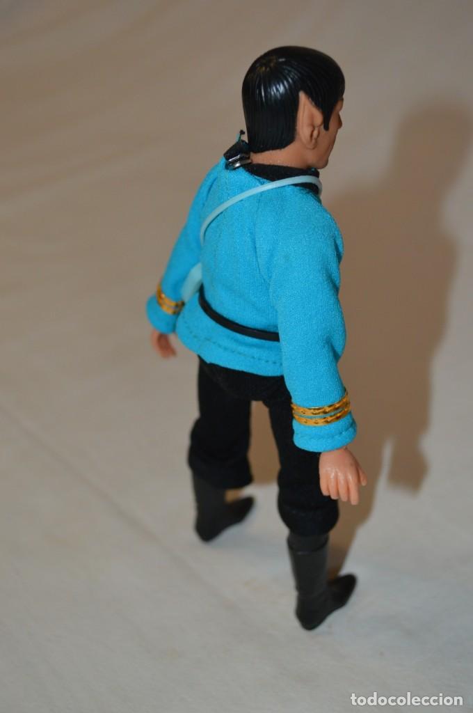 Figuras y Muñecos Mego: Star Trek. Mr. Spock. Cinco figuras de acción dibujadas. Mego. 1974. Paramount. romanjuguetesymas. - Foto 15 - 231226765
