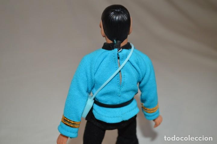 Figuras y Muñecos Mego: Star Trek. Mr. Spock. Cinco figuras de acción dibujadas. Mego. 1974. Paramount. romanjuguetesymas. - Foto 16 - 231226765