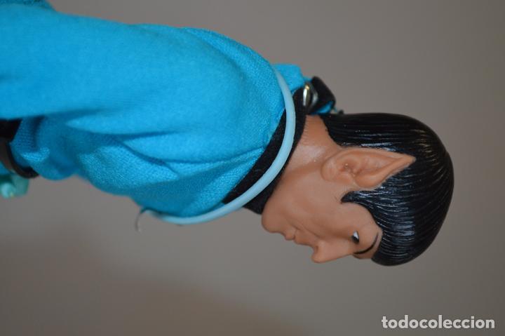 Figuras y Muñecos Mego: Star Trek. Mr. Spock. Cinco figuras de acción dibujadas. Mego. 1974. Paramount. romanjuguetesymas. - Foto 18 - 231226765