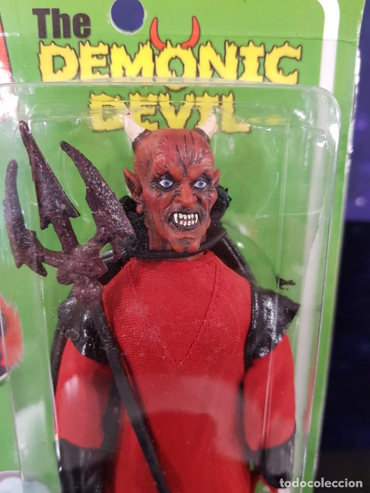 Figuras y Muñecos Mego: MAD MONSTERS SERIES 2 - MEGO REEDICIÓN - THE DEMONIC DEVIL - Foto 3 - 235382270