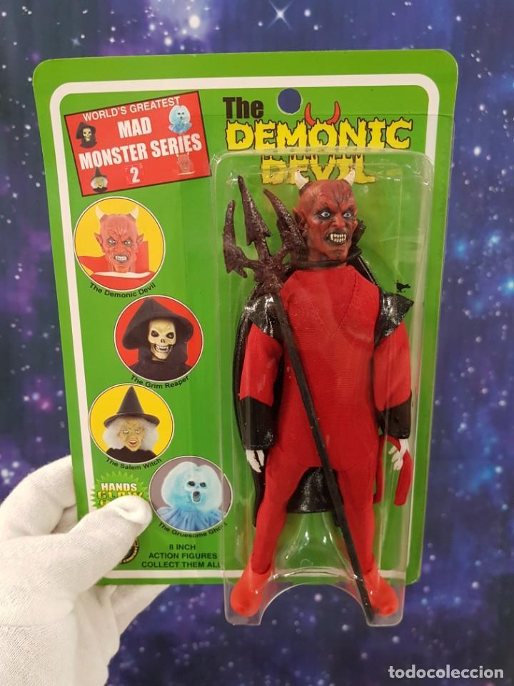 Figuras y Muñecos Mego: MAD MONSTERS SERIES 2 - MEGO REEDICIÓN - THE DEMONIC DEVIL - Foto 4 - 235382270