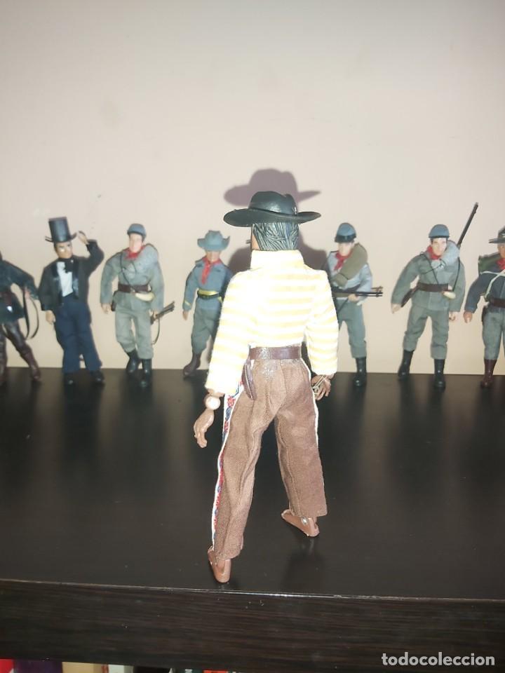 Figuras y Muñecos Mego: Mego indio chaman brujo Don Juan Matus, Don Genaro Flores, Carlos Castaneda, Completo. Misterio - Foto 3 - 246685405