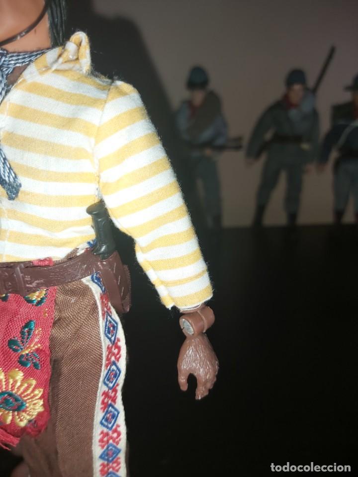 Figuras y Muñecos Mego: Mego indio chaman brujo Don Juan Matus, Don Genaro Flores, Carlos Castaneda, Completo. Misterio - Foto 4 - 246685405