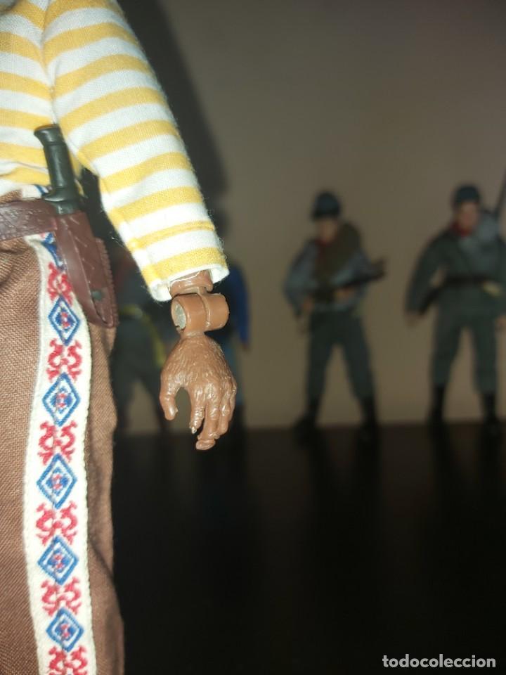 Figuras y Muñecos Mego: Mego indio chaman brujo Don Juan Matus, Don Genaro Flores, Carlos Castaneda, Completo. Misterio - Foto 5 - 246685405