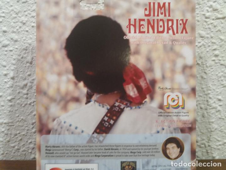Figuras y Muñecos Mego: FIGURA REEDICION MEGO JIMI HENDRIX 8 PULGADAS - Foto 5 - 250273810