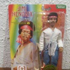 Figuras y Muñecos Mego: FIGURA REEDICION MEGO JIMI HENDRIX 8 PULGADAS. Lote 250273810