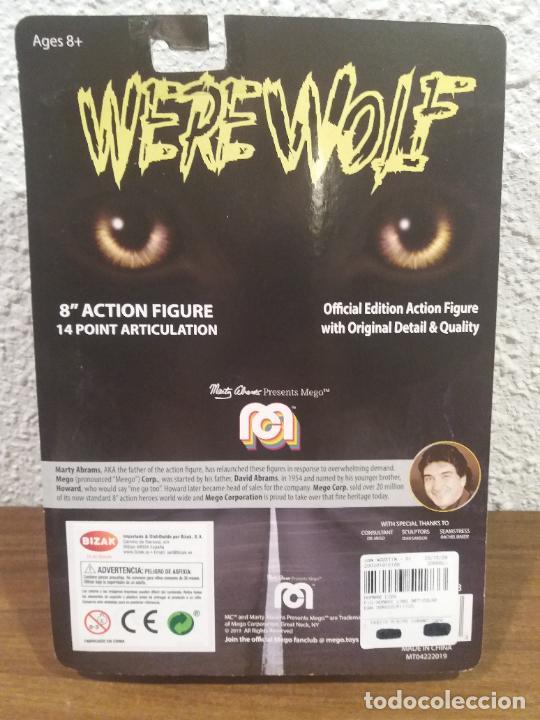 Figuras y Muñecos Mego: FIGURA REEDICION MEGO WERE WOLF 8 PULGADAS - Foto 4 - 250273835
