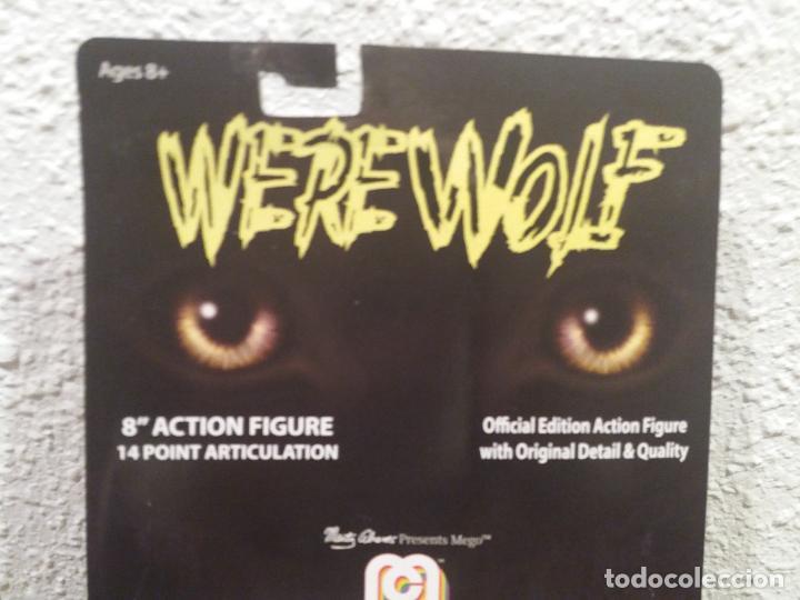 Figuras y Muñecos Mego: FIGURA REEDICION MEGO WERE WOLF 8 PULGADAS - Foto 5 - 250273835