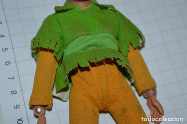 Figuras y Muñecos Mego: Robin Hood - Antigua figura MEGO - Año 1974 - Made In Hong Kong ¡Muy difícil/rara, mira fotografías! - Foto 3 - 251874480