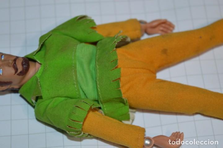 Figuras y Muñecos Mego: Robin Hood - Antigua figura MEGO - Año 1974 - Made In Hong Kong ¡Muy difícil/rara, mira fotografías! - Foto 7 - 251874480