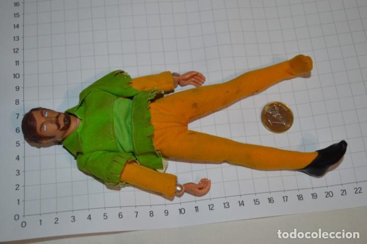 Figuras y Muñecos Mego: Robin Hood - Antigua figura MEGO - Año 1974 - Made In Hong Kong ¡Muy difícil/rara, mira fotografías! - Foto 2 - 251874480