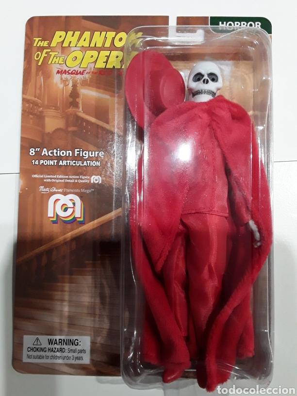 FIGURA PHANTOM OF THE OPERA MASQUE OF THE RED DEATH MEGO (Juguetes - Figuras de Acción - Mego)
