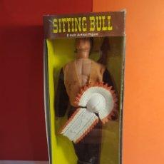 Figuras y Muñecos Mego: SITTING BULL MEGO REPRO. Lote 268436114