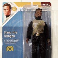 Figuras y Muñecos Mego: FIGURA KANG THE KLINGON STAR TREK RETRO MEGO. Lote 286672363
