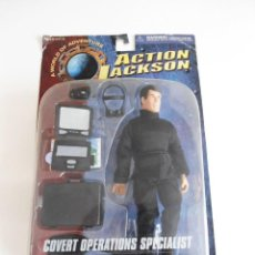 Figuras y Muñecos Mego: COVERT OPERATIONS SPECIALIST - ACTION JACKSON HYPER (MEGO) - PLAYING MANTIS 2000 - FIGURA EN BLISTER. Lote 293246428