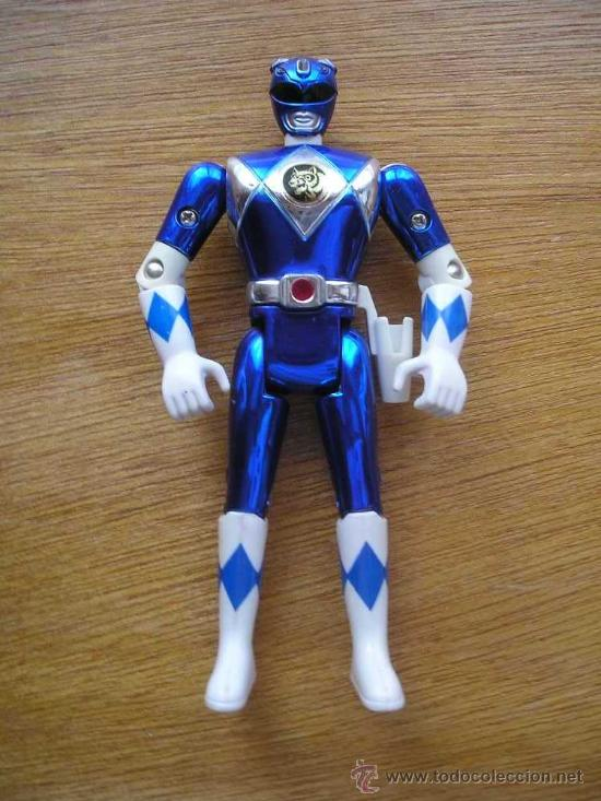 POWER RANGER AZUL - BANDAI - POWER RANGERS (Juguetes - Figuras de Acción - Power Rangers)
