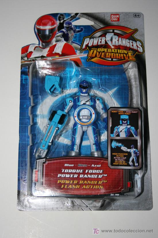 Figuras y Muñecos Power Rangers: POWER RANGERS / POWER RANGER BLUE - OPERATION OVERDRIVE MISB / MOSC - Foto 2 - 26677483