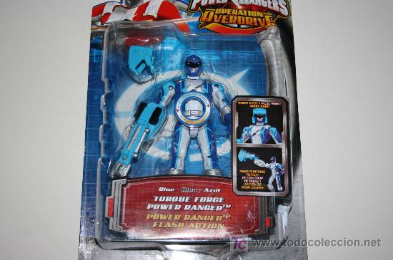 POWER RANGERS / POWER RANGER BLUE - OPERATION OVERDRIVE MISB / MOSC (Juguetes - Figuras de Acción - Power Rangers)
