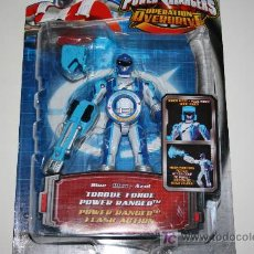 Figuras y Muñecos Power Rangers: POWER RANGERS / POWER RANGER BLUE - OPERATION OVERDRIVE MISB / MOSC. Lote 26677483