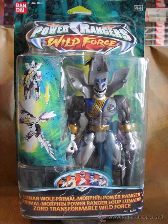 POWER RANGERS WILD FORCE ZORD LOBO LUNAR (Juguetes - Figuras de Acción - Power Rangers)
