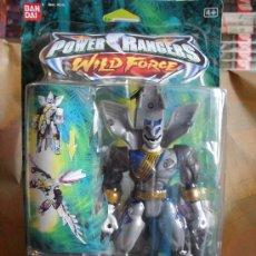 Figuras y Muñecos Power Rangers: POWER RANGERS WILD FORCE ZORD LOBO LUNAR. Lote 25788382