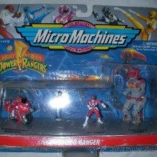 Figuras y Muñecos Power Rangers: ANTIGUO BLISTER POWER RANGERS MIGHTY MORPHIN NUEVO . Lote 27540795
