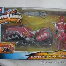 Figuras y Muñecos Power Rangers: ANTIGUA CAJA DINO THUNDER MOTO RAPTOR NUEVO. Lote 27988569