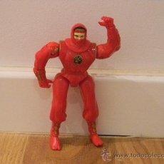 Figuras y Muñecos Power Rangers: POWER RANGER NIJA ROJO. Lote 30383965