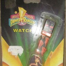 Figuras y Muñecos Power Rangers: RELOJ POWER RANGERS,BIZAK,BLISTER,AÑO 1994,A ESTRENAR. Lote 32067492