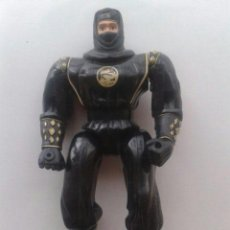 Figuras y Muñecos Power Rangers: FIGURA NINJA RANGER NEGRO POWER RANGERS BANDAI 1995. Lote 37223720