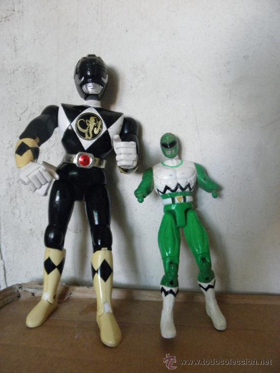 LOTE POWER RANGERS (Juguetes - Figuras de Acción - Power Rangers)