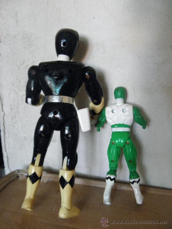 Figuras y Muñecos Power Rangers: lote power rangers - Foto 3 - 37312062