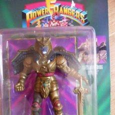 Figuras y Muñecos Power Rangers: POWER RANGERS. FIGURA GOLDAR. DEMONIO ALIENIGENA CON ACCIÓN. BANDAI. A ESTRENAR. AÑOS 90. Lote 37687633