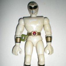 Figuras y Muñecos Power Rangers: POWER RANGERS BLANCO DE BANDAI 21 CM ARTICULADOS COMPLETO CON EFECTOS . Lote 37761069