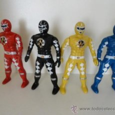 Figuras y Muñecos Power Rangers: LOTE 4 POWER RANGERS BIOMAN. Lote 38107711