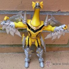 Figuras y Muñecos Power Rangers: FIGURA AMARILLA POWER RANGERS MISTIC FORCE THUNDER, BANDAI 2005. Lote 38405796
