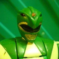 Figuras y Muñecos Power Rangers: FIGURA POWER RANGERS VERDE DE BANDAI / CHINA 1993. Lote 40210570