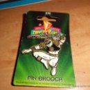 Figuras y Muñecos Power Rangers: POWER RANGERS PIN GRANDE NUEVO 1994 EN SU BLISTER. Lote 40544188