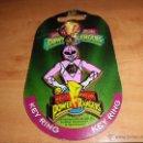 Figuras y Muñecos Power Rangers: LLAVERO POWER RANGERS 1994 EN SU BLISTER. Lote 100085372
