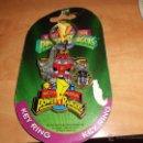 Figuras y Muñecos Power Rangers: MEGAZORD LLAVERO EN SU BLISTER ORIGINAL NUEVO 1994. Lote 40544322