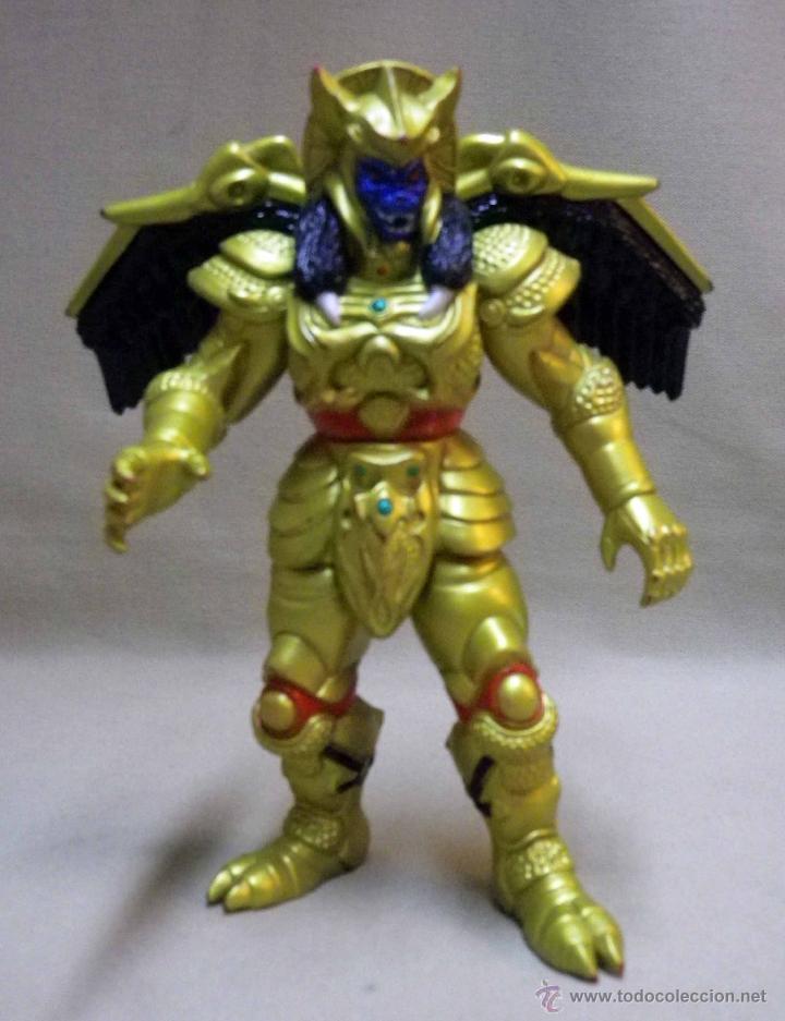 Figuras y Muñecos Power Rangers: GOLDAR, VILLANO DE LOS POWER RANGERS, BANDAI, 1993, 21 cm - Foto 2 - 40761329